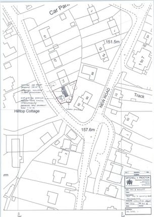Thumbnail Land for sale in Gallery Lane, Holymoorside, Chesterfield