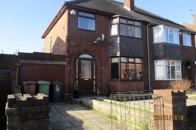 Thumbnail Semi-detached house to rent in Old Park Road, Darlaston, Wednesbury