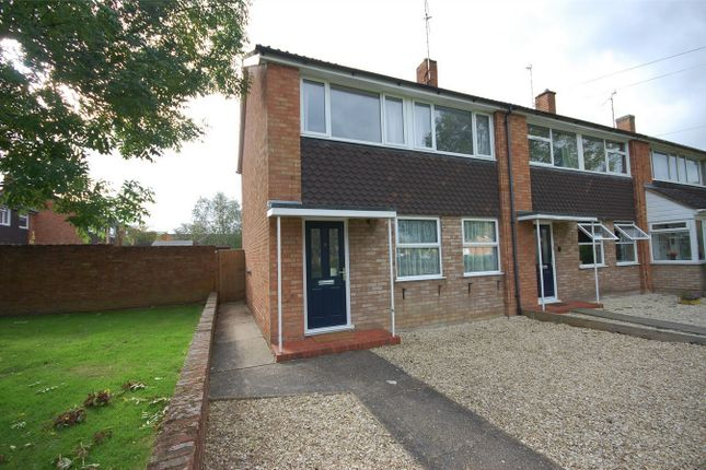 Thumbnail End terrace house for sale in Stratton Green, Aylesbury, Buckinghamshire