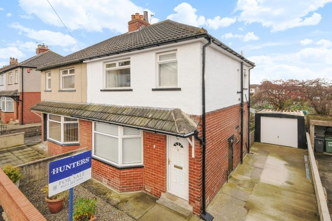 Thumbnail Semi-detached house for sale in Hawthorn Drive, Yeadon, Leeds