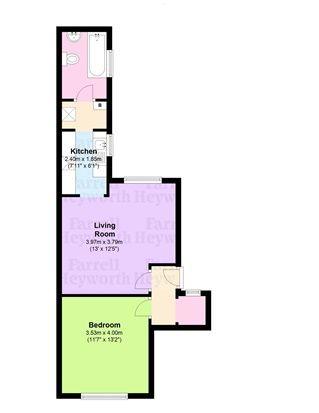 Floor Plan of Steamer Street, Barrow In Furness LA14