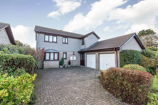 Thumbnail Detached house for sale in Tehidy Close, Camborne