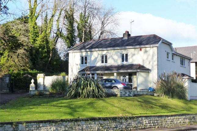 Thumbnail Detached house for sale in Penyfai Lodge, Pen-Y-Fai, Bridgend, Mid Glamorgan