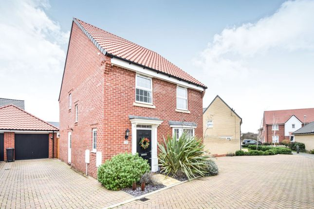 Thumbnail Detached house for sale in The Poplars, Southminster