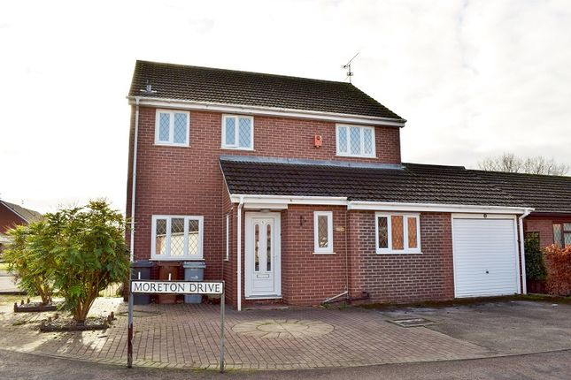 Thumbnail Detached house for sale in Moreton Drive, Alsager