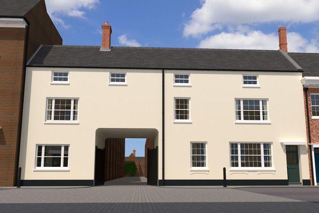 Thumbnail Town house for sale in Aickmans Yard, King Street, King's Lynn