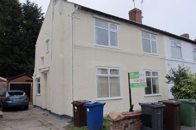 Thumbnail Semi-detached house to rent in York Avenue, Prestwich, Manchester