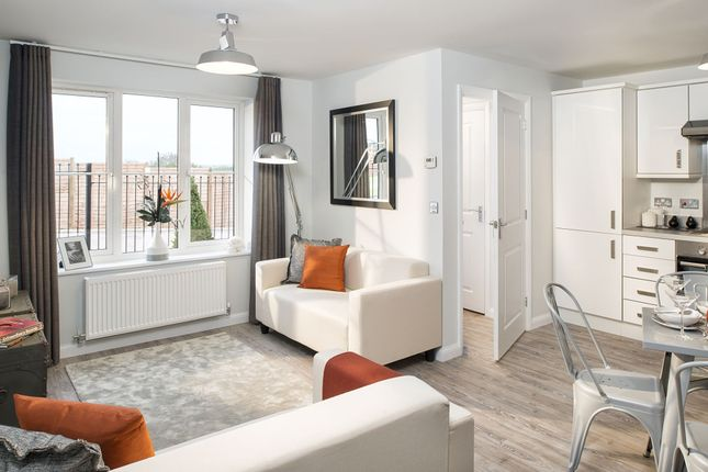 """Thumbnail Semi-detached house for sale in """"Amber"""" at Captains Parade, East Cowes"""