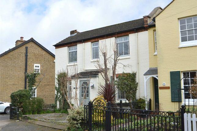 Thumbnail End terrace house for sale in Church Walk, Weybridge, Surrey