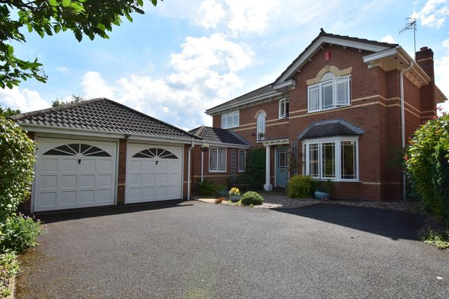 Thumbnail Detached house for sale in Geoffrey Chaucer Walk, Droitwich