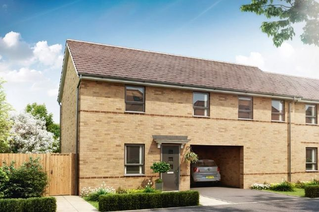 "Thumbnail Detached house for sale in ""Alverton"" at Southern Cross, Wixams, Bedford"