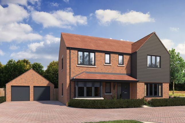 """Thumbnail Detached house for sale in """"Osmore"""" at Stonehill Road, Ottershaw, Chertsey"""