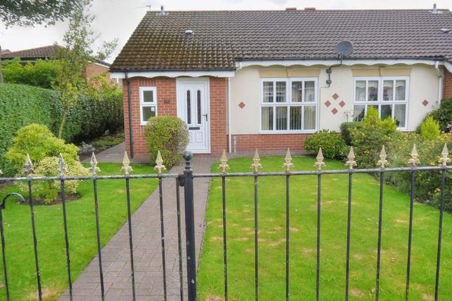Thumbnail Semi-detached bungalow for sale in Oakapple Close, Bedlington