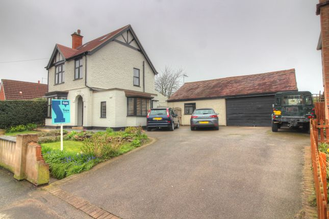 Thumbnail Detached house for sale in Main Street, Broughton Astley, Leicester