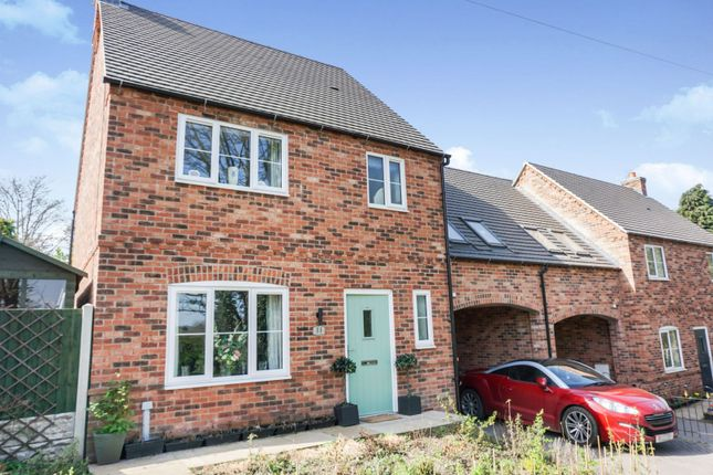 3 bed link-detached house for sale in Canal Street, Oakthorpe DE12