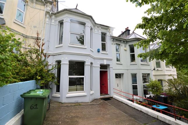 Thumbnail Terraced house for sale in Lisson Grove, Plymouth, Devon