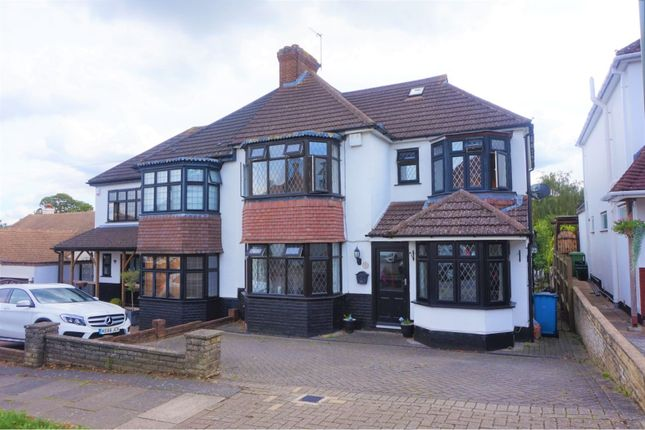 Thumbnail 4 bed semi-detached house for sale in Hawthorn Drive, West Wickham