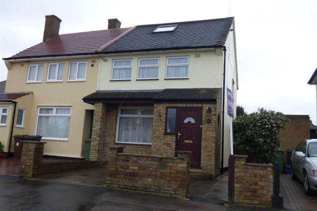Thumbnail Semi-detached house for sale in Rossington Avenue, Borehamwood