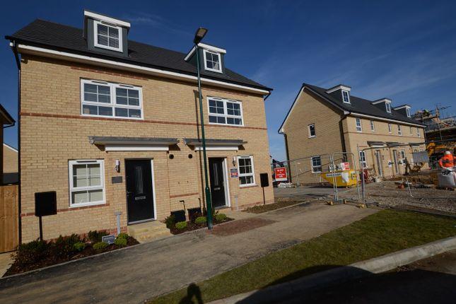 Thumbnail Semi-detached house to rent in Aqua Drive, Hampton Water, Peterborough, Peterborough