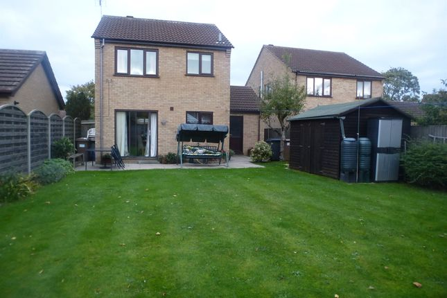 Thumbnail Detached house for sale in Brauncewell Close, Ruskington, Sleaford