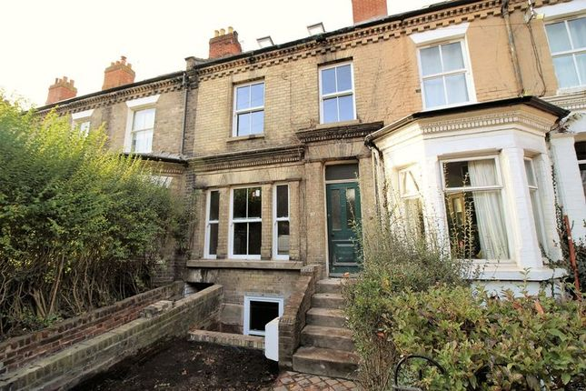Thumbnail Terraced house to rent in Mill Hill Road, Golden Triangle, Norwich
