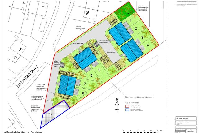 Thumbnail Land for sale in Nanaimo Way, Kingswinford
