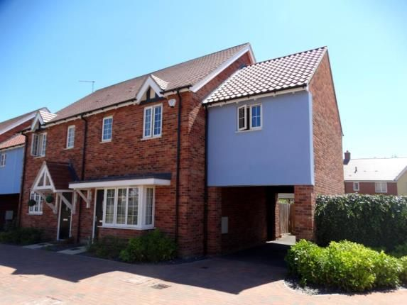 Thumbnail Semi-detached house for sale in Henderson Way, Witham