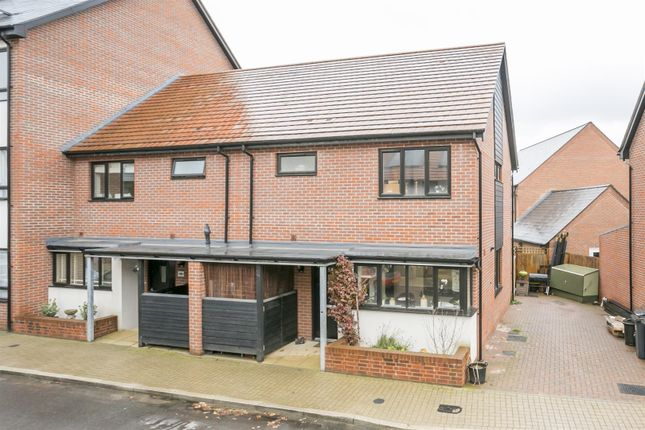 Thumbnail Semi-detached house for sale in Hawley Drive, Leybourne, West Malling