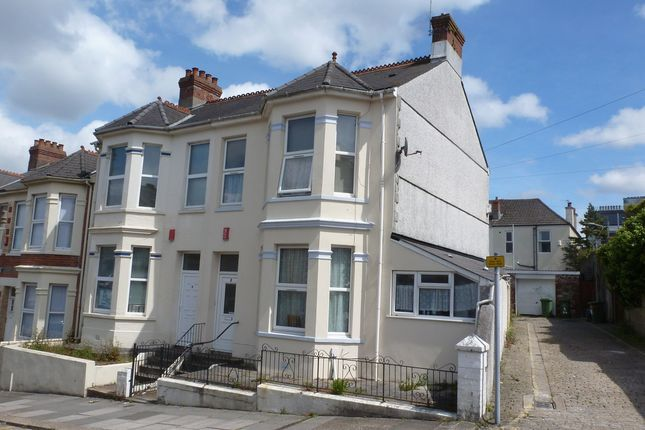 Thumbnail End terrace house for sale in Welbeck Avenue, Plymouth