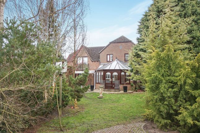 Thumbnail Detached house for sale in The Street, Cherhill, Calne