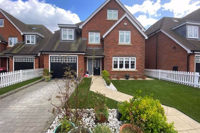 Thumbnail Detached house for sale in Old Dairy Grove, Norwood Green, Middlesex