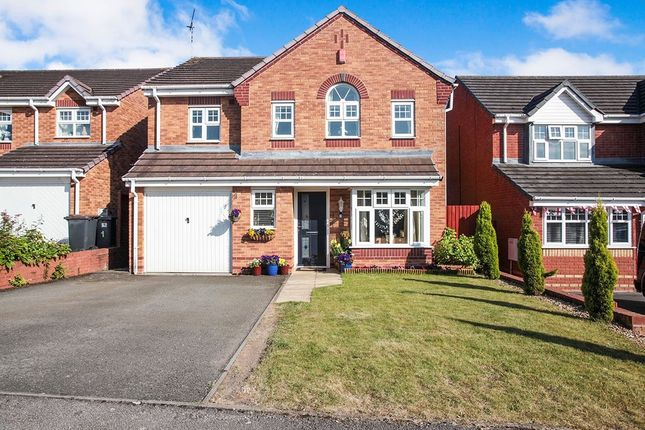 Thumbnail Detached house for sale in Haselbury Corner, Nuneaton