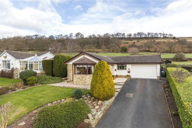 Thumbnail Detached bungalow for sale in Greenhill Drive, Micklethwaite, West Yorkshire