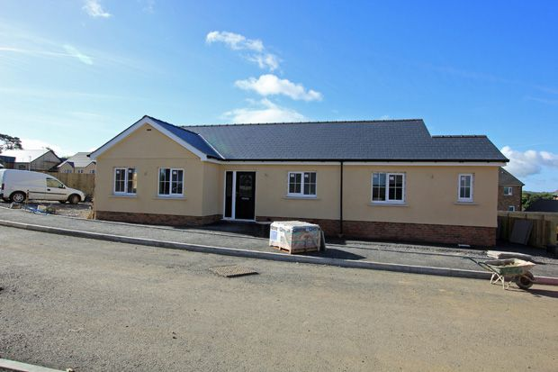Thumbnail Detached bungalow for sale in Plot 25, Maes Glasnant, Cwmffrwd, Carmarthen, Carmarthenshire