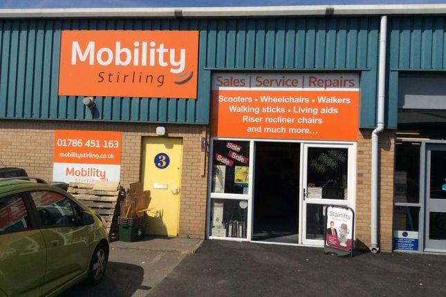 Retail premises for sale in Munro Road, Springkerse Industrial Estate, Stirling