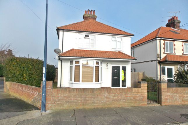 Thumbnail Detached house for sale in Looe Road, Felixstowe