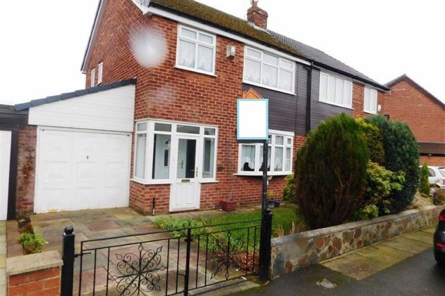 Thumbnail Semi-detached house for sale in Heather Avenue, Droylsden, Manchester