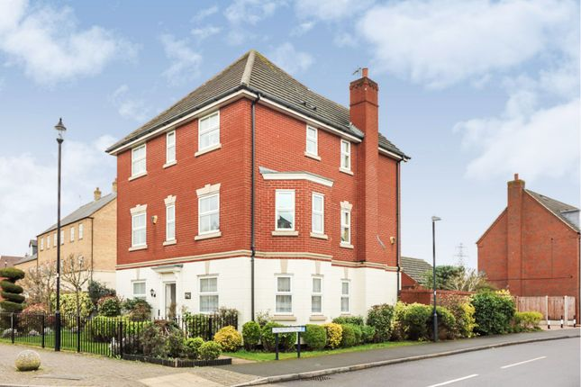 Thumbnail Detached house for sale in Stonechat Road, Rugby