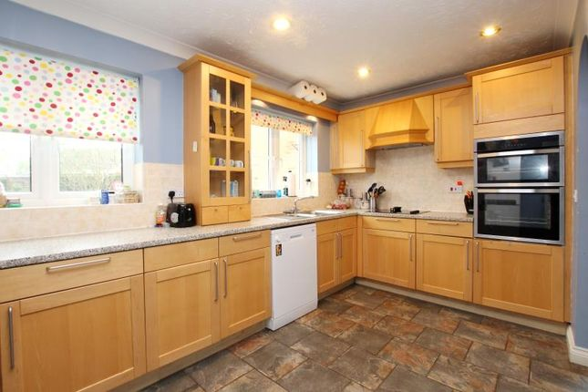 Thumbnail Detached house to rent in Ferndale, Yaxley, Peterborough