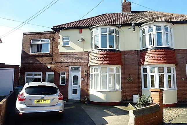 Thumbnail Semi-detached house for sale in Astley Gardens, Seaton Delaval, Whitley Bay