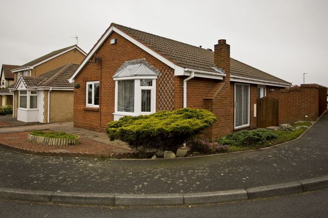 Thumbnail Bungalow for sale in Bournemouth Drive, Dalton-Le-Dale, Seaham