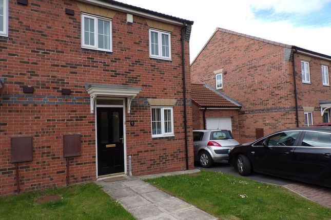 Thumbnail Semi-detached house to rent in Horton Close, Consett
