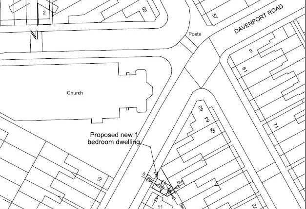 Thumbnail Land for sale in Davenport Road, Derby