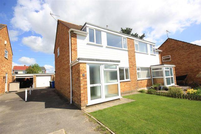 Thumbnail Semi-detached house to rent in Sunridge Close, Branksome, Poole