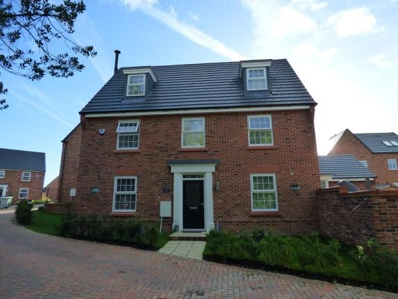 Thumbnail Detached house for sale in Alpine Echoes Close, Elworth, Sandbach, Cheshire