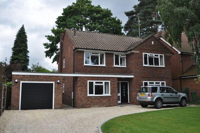 Thumbnail Detached house to rent in Cedar Road, Farnborough