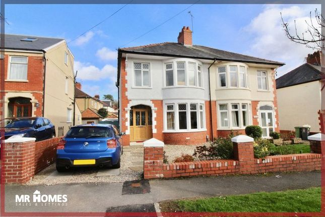 Thumbnail Semi-detached house for sale in Bishops Walk, Llandaff, Cardiff