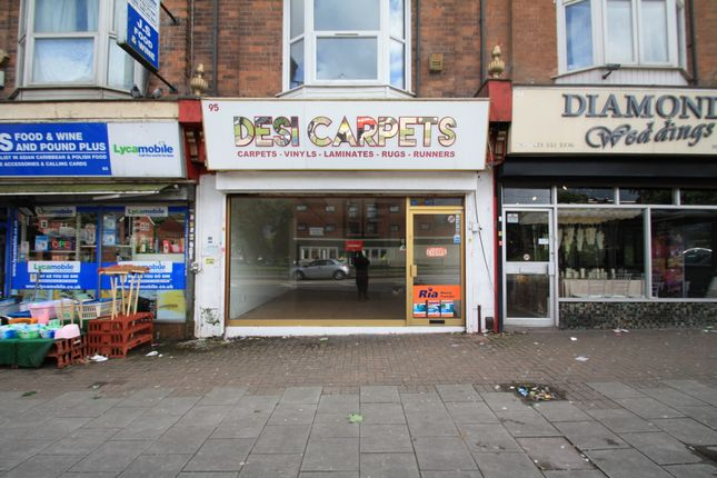 Retail premises to let in Holyhead Road, Birmingham