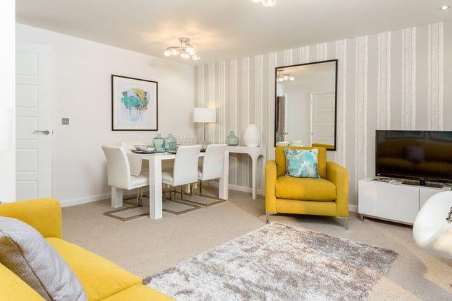 "Thumbnail Semi-detached house for sale in ""Rydon"" at Pinn Lane, Pinhoe, Exeter"