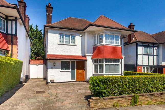 Detached house for sale in Haslemere Avenue, London